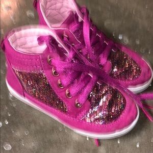 Other - Girls glitter high tops